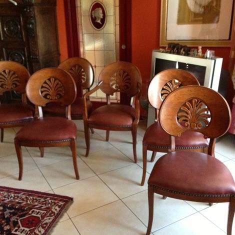 2 poltroncine e 4 sedie arte brotto in offerta for 4 sedie in offerta