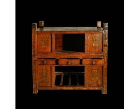 Cassapanca d'antiquariato in stile Orientale a prezzo Outlet