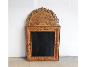 Complemento in stile barocco Specchiera intarsiata bois de rose a prezzo scontato