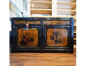 Mobile di antiquariato Madia antica cina in olmo fine 800 IN OFFERTA OUTLET