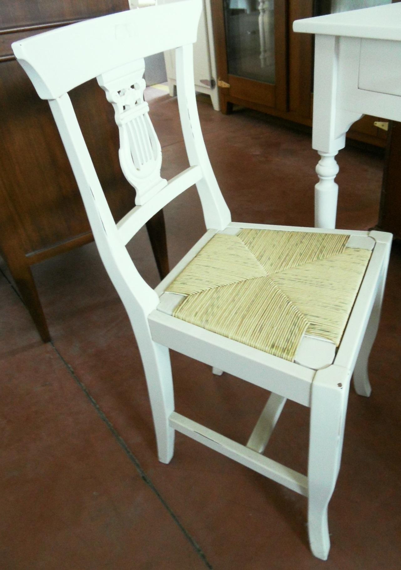 Scrivania con sedia scontato del 50 antiquariato a for Sedia scrivania