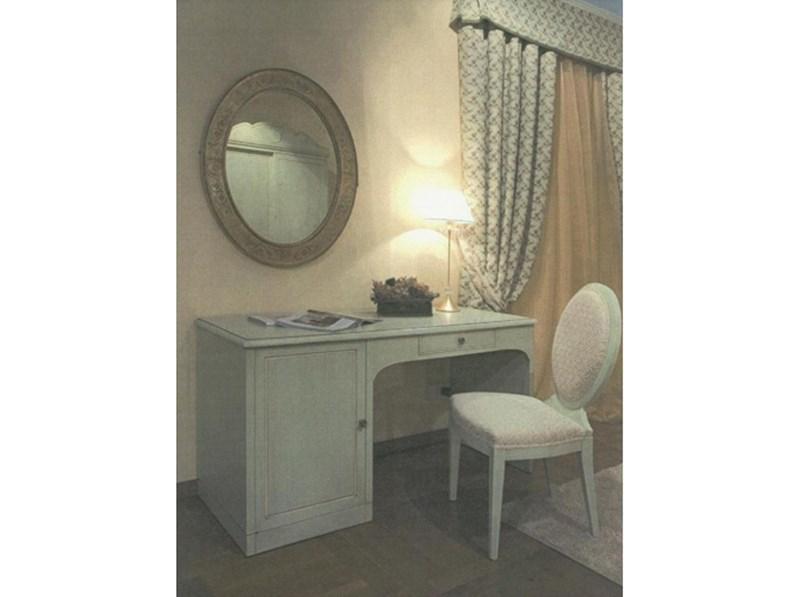 Scrivania in stile neoclassico jole laccata in offerta outlet for Arredamento neoclassico