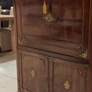 Secrétaire antiquariato 800' Francese , originale in ciliegio e piano in marmo