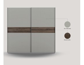 ARMADIO 2 ante maxi altezza 258cm Md work OFFERTA OUTLET