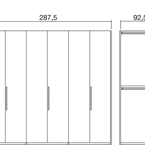 Armadio a 6 ante 21149 armadi a prezzi scontati - Armadio 6 ante ikea ...