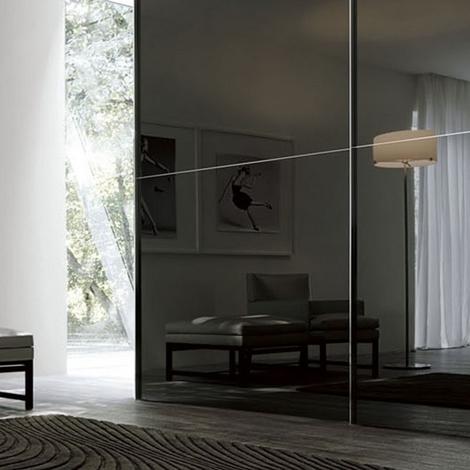 Armadio in vetro o specchio ante scorrevoli san giacomo for San giacomo arredamenti prezzi