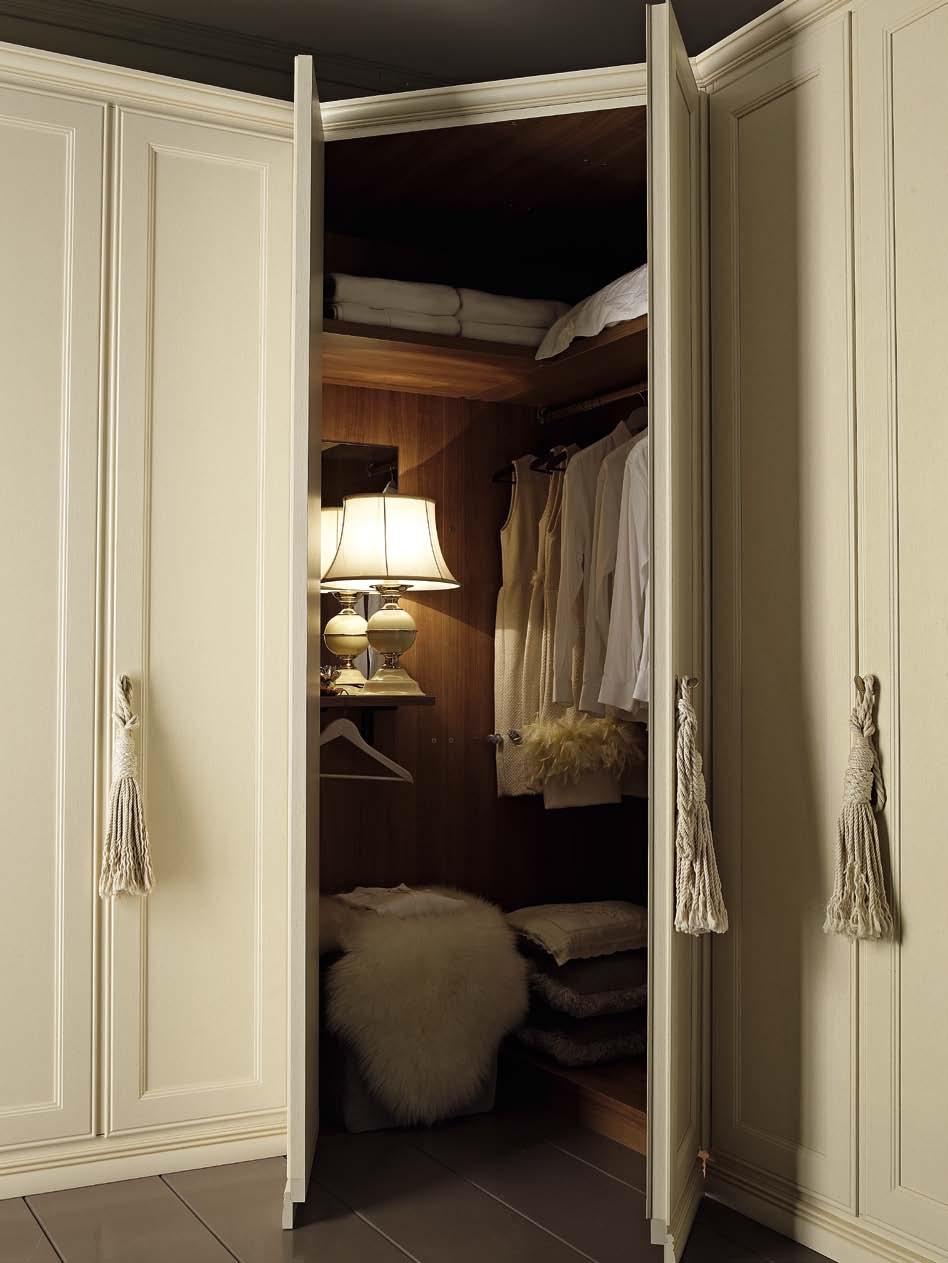 Armadio ante battenti cabina armadio angolare pattinato - Ante per cabina armadio ...