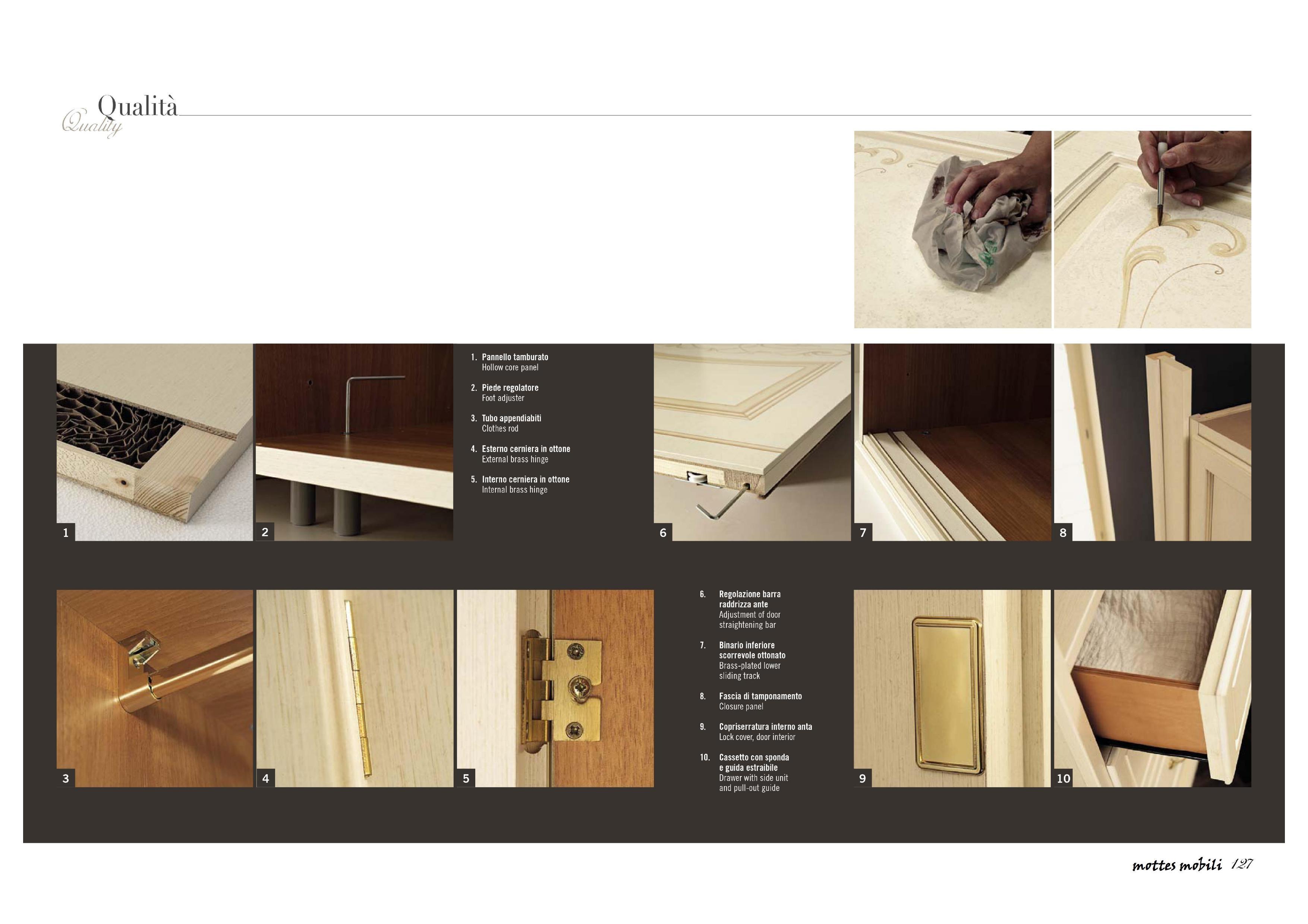 Armadio ante battenti in legno classico style provenzale - Armadi ...