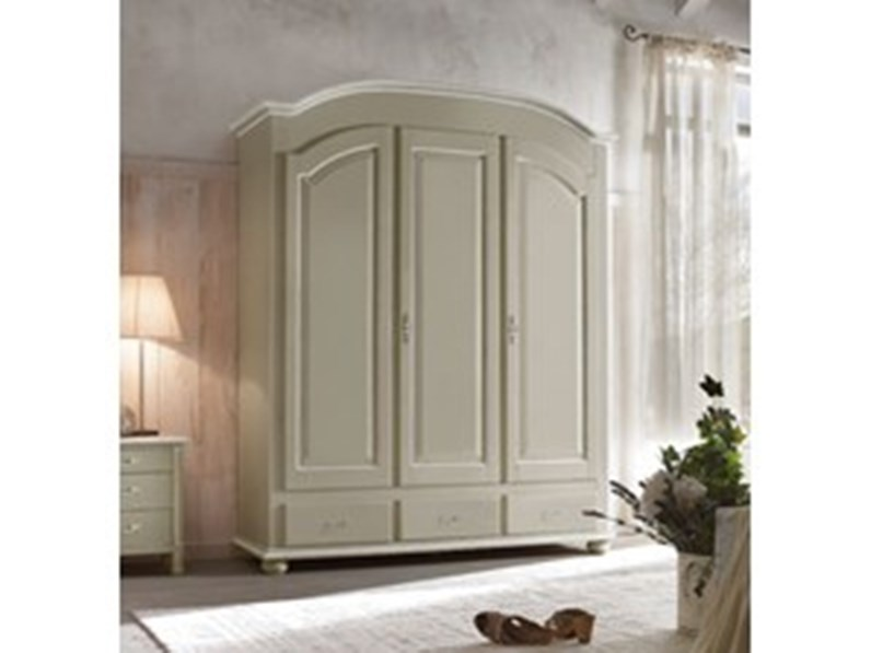 Armadio Shabby Chic On Line : Armadio armadio a tre ante in stile shabby chic mottes mobili