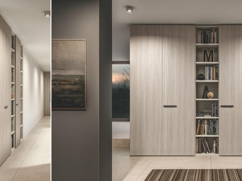 Marlene - Cameretta singola completa moderna con libreria e letto con  cassetti