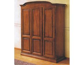 Armadio Armadio in legno a tre ante mottes mobili Artigianale a tre ante in Offerta Outlet