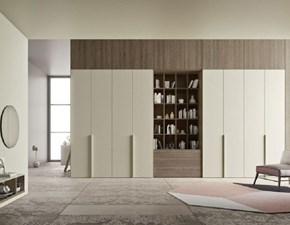 Armadio Armadio mod.linea di ballancin con libreria centrale in promo-sconto del 40% Ballancin a otto ante in Offerta Outlet