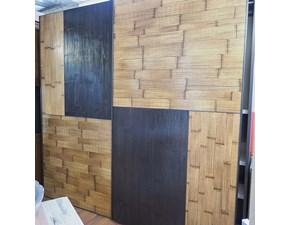 ARMADIO Armadio scorrevole antoni crash bambu' miele/nocescuro di Nuovi mondi cucine SCONTATO