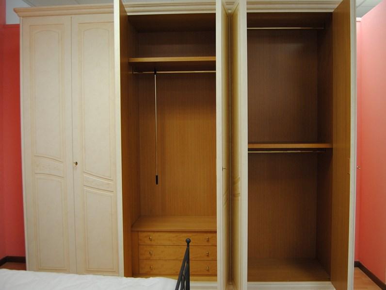 Offerta armadio classico Domus a 6 ante finitura vecchia ...