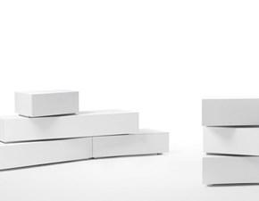 Armadio con ante a soffietto Blocks a prezzo ribassato