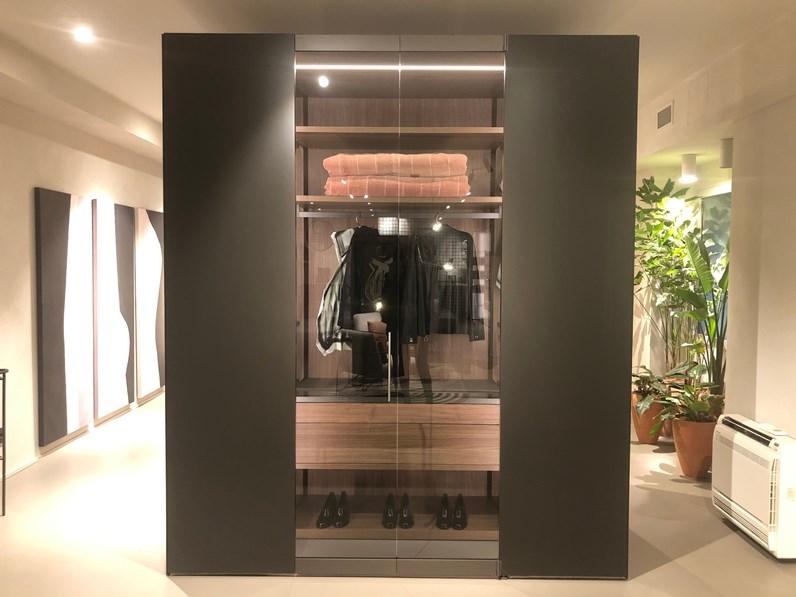 Armadio con ante a soffietto moderno Freedhome camerino ...