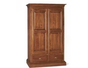 Armadio con ante battenticlassicoArmadio in legno a due ante battenti mottes mobili Artigianale a prezzo ribassato