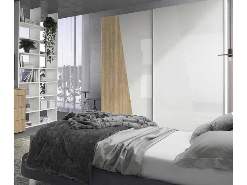 Armadio con ante scorrevoli armadio scorrevole white for Armadio serenissima con tv prezzo