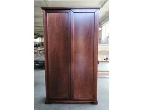 Armadio con ante scorrevoli Art.34-armadio ripiani in legno a prezzo scontato