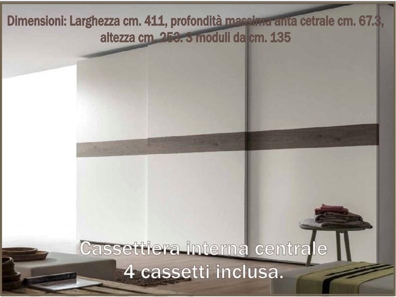 Come Si Monta Un Armadio Con Ante Scorrevoli.Armadio Con Ante Scorrevoli Moderno Projecta Santa Lucia Santa