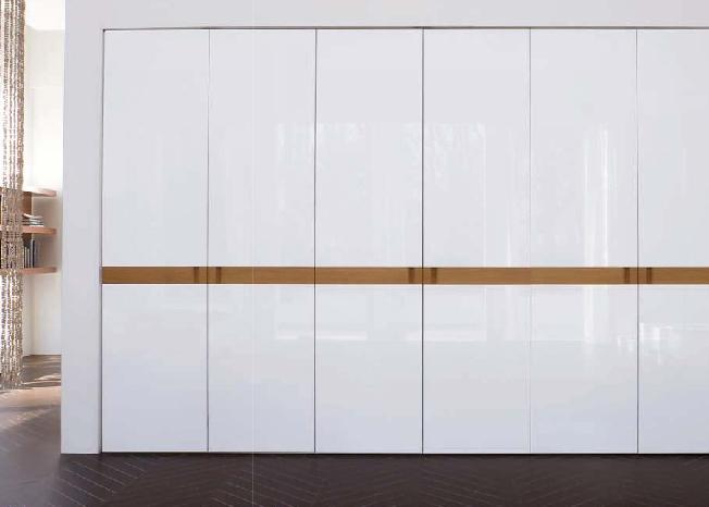 Armadio doimo design ante luxor laccato bianco lucido - Portacravatte per armadi ...