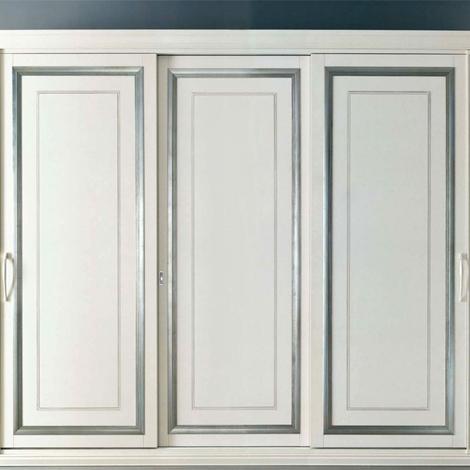 Eurodesign armadio giotto bianco antico scontato del 30 for Armadio ufficio bianco
