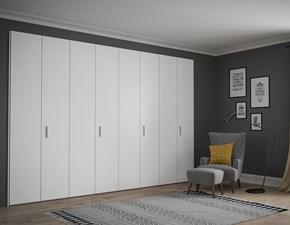 2019 Latest Design Armadio 6 Ante Laccato Bianco Lucido Linea Design Online Discount Armoires & Wardrobes