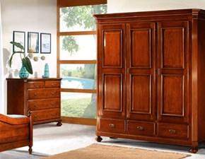 armadio in legno a due ante shabbi chic scontato occasione