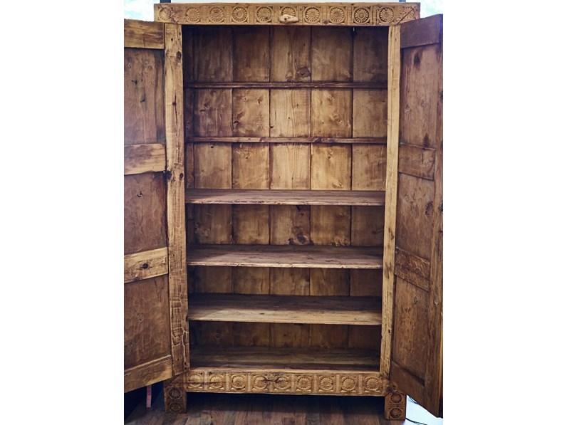Armadio in legno di cedro fine 800 for Specchio fine 800