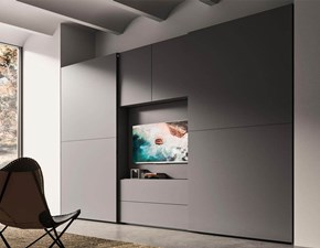 ARMADIO Linea con porta tv orientabile Mab in OFFERTA OUTLET