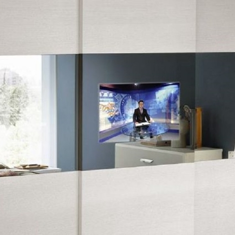 outlet Maronese Armadio Armadio smart tv  Design Legno Ante scorrevoli