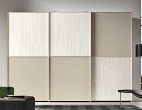 Armadio moderno Anta leather Clever PREZZI OUTLET