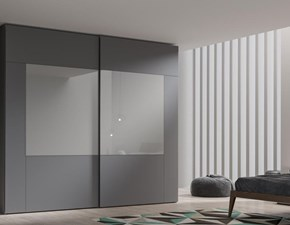 Armadio moderno Glass Mobilgam PREZZI OUTLET
