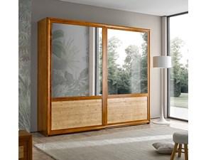 ARMADIO Mottes mobili armadio a 2 ante scorrevoli con specchiere Artigianale SCONTATO
