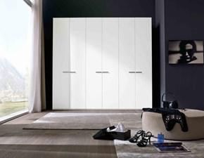 Armadio Mottes mobili armadio quadro ad ante battenti maniglia silver Artigianale a sei ante a prezzo Outlet