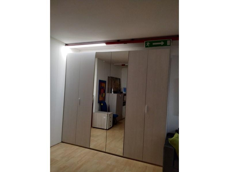 ARMADIO Pratico con specchio Santa lucia SCONTATO