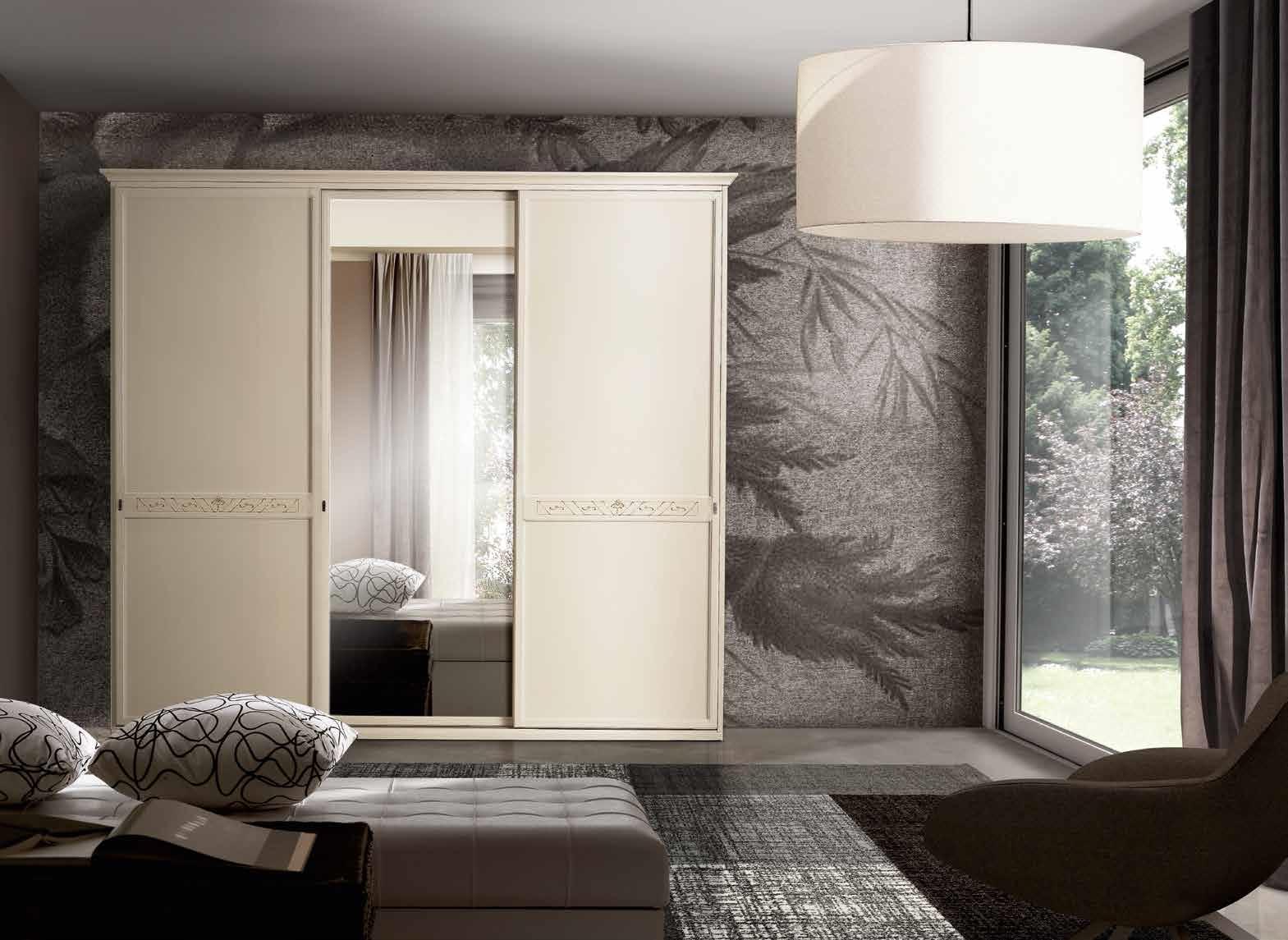 San michele armadio dea classico specchio ante scorrevoli - San michele mobili ...