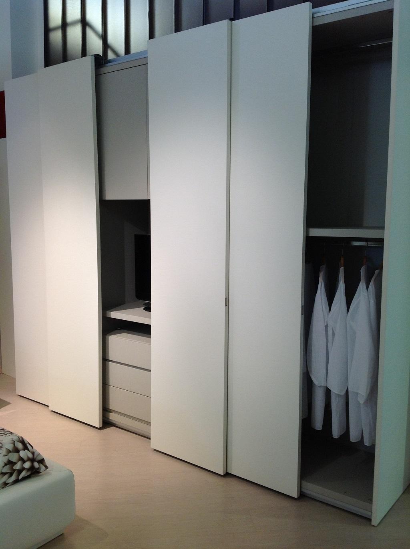 Armadio alf armadio laccato moderno laccato opaco ante - Profondita armadio scorrevole ...