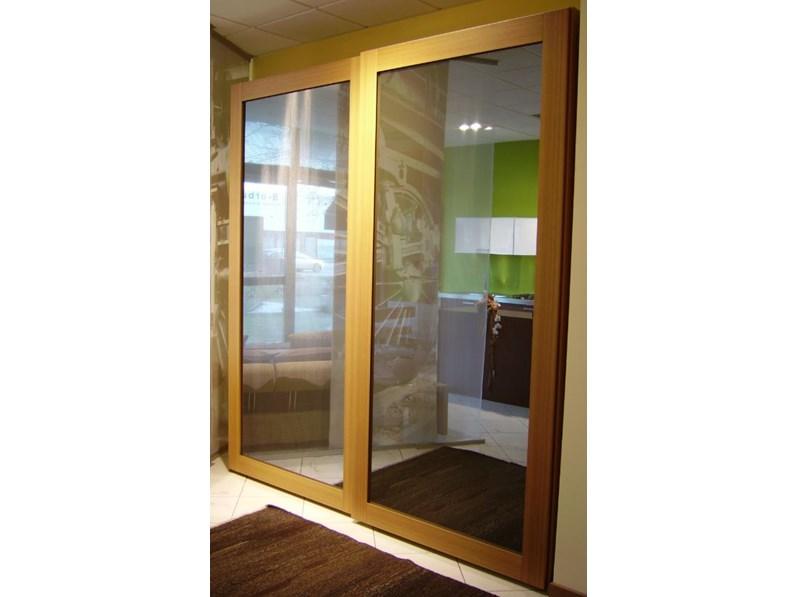 Armadio scorrevole specchio sottoscosto - Porte a specchio prezzi ...
