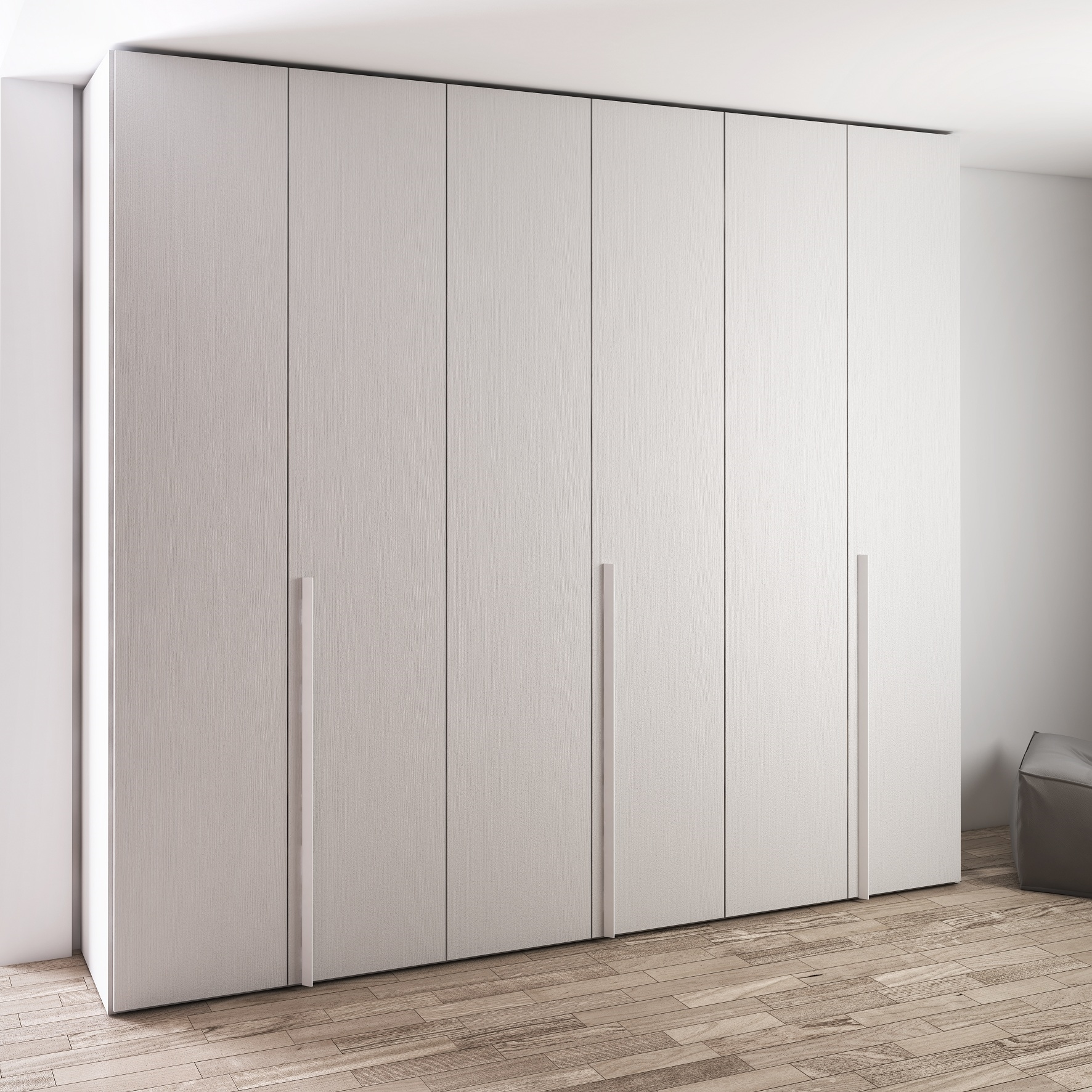 Ante vetro per armadio battente dorian idea creativa - Ante cabina armadio ...