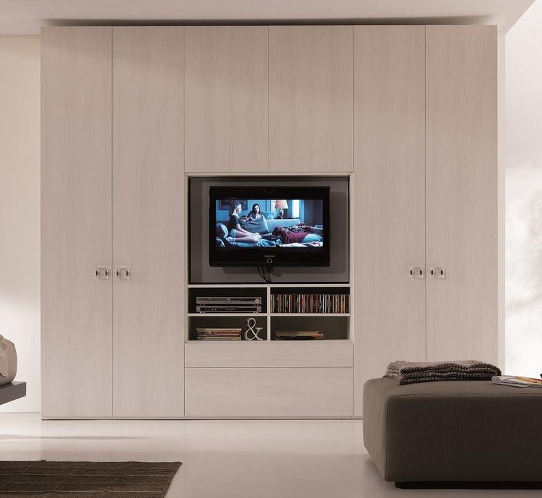 Armadio Style con vano TV/scrivania di Dielle Modus - Armadi a prezzi ...