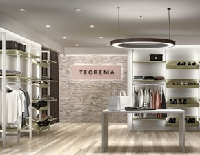 Armadio System metal 12 Mottes selection a senza ante a prezzo Outlet