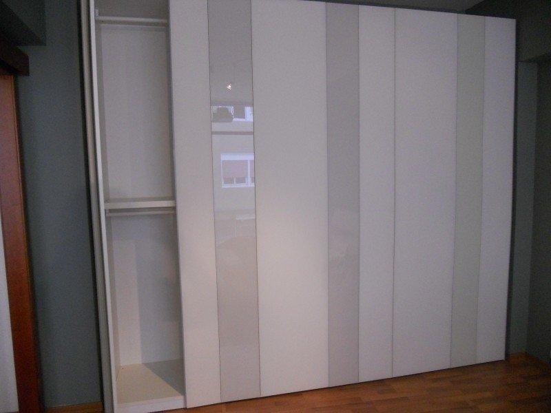 venduto armadio in vetro armadio battente a 3 colori altezza cm 265 ...