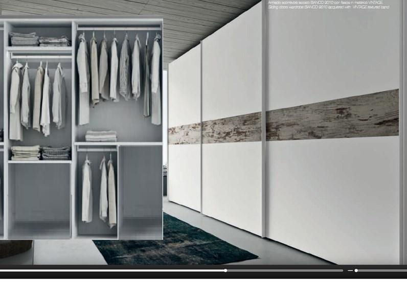 armadio vintage white 3 antone maxi scorrevole in offerta outlet ...