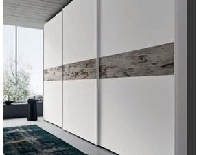 armadio vintage white 3 antone maxi scorrevole in offerta outlet