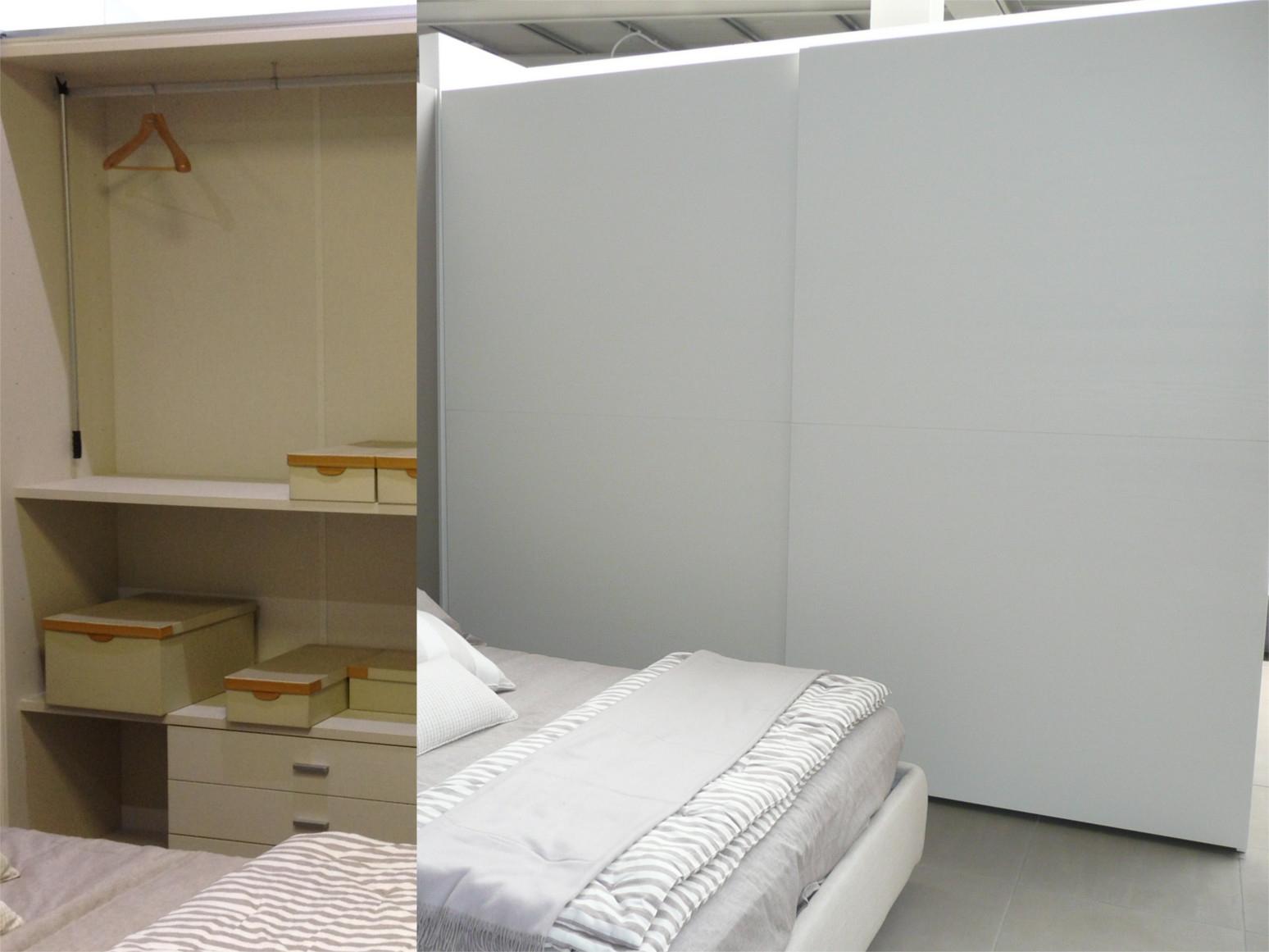 Armadio caccaro armadio scorrevole caccaro bianco con - Armadio con cassettiera interna ...
