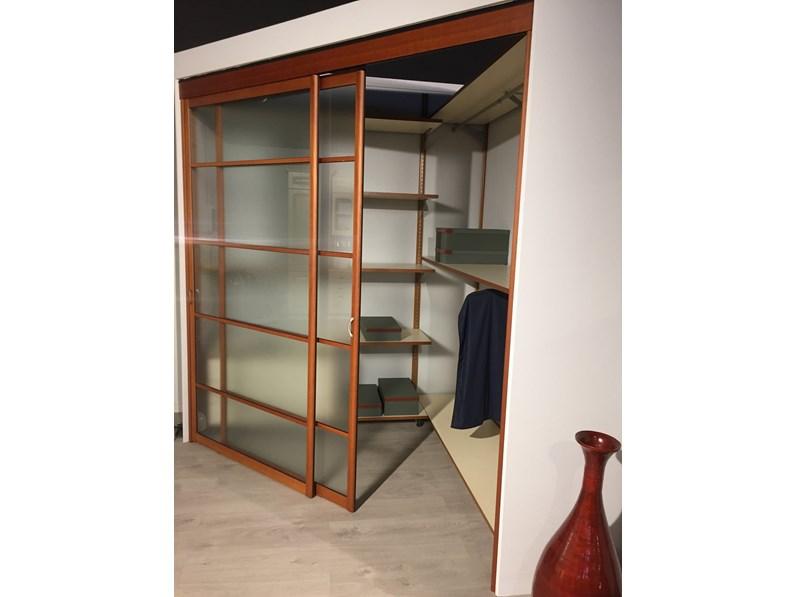 Cabina armadio con porte scorrevoli ciliegio e acidato rimadesio - Porte scorrevoli per cabina armadio ...