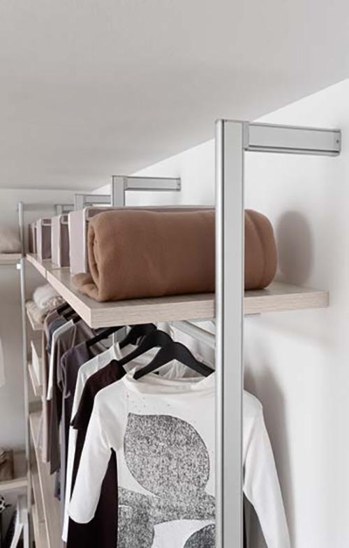 Cabina armadio della zg mobili design moderno in laminato for Design della cabina a prezzi accessibili