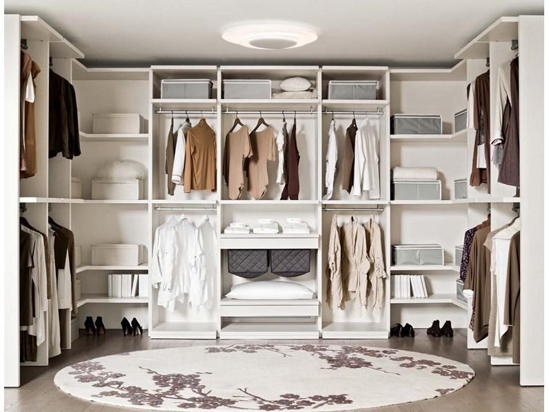 Cabina armadio della zg mobili moderno in laminato materico for Ikea armadio angolare
