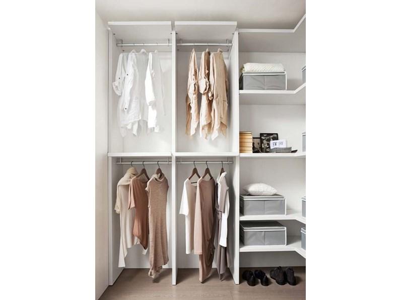 Cabina armadio della zg mobili moderno in laminato materico - Mobili cabina armadio ...